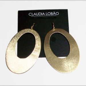 Claudia Lobão Double Oval Hoops